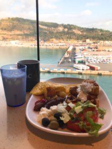 クルーズ2着岸時朝食